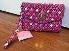 NWT Authentic Vera Bradley Your Turn Smartpone Wristlet Wallet Katalina Pink Dia