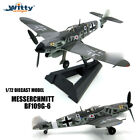 Witty GERMAN MESSERCHMITT BF109G 6 1 72 die cast plane model aircraft