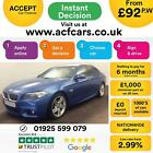2016 BLUE BMW 535D 30 M SPORT DIESEL AUTO 4DR SALOON CAR FINANCE FR 92 PW