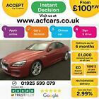 2015 RED BMW 640D GRAN COUPE 30 M SPORT DIESEL AUTO 4DR CAR FINANCE FR 100 PW