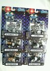 MUSCLE MACHINES DIECAST POLICE DEPARTMENT FULL SET OF 6 CARS NIP 2005