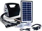 Rechargeable Portable Solar Generator Kit Power Inverter for Camping Solar Panel