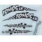 NEW Reproduction Tomos LX Targa LX moped decal set custom colors