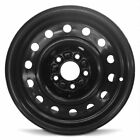 Steel Wheel Rim 15 Inch 00 05 Saturn L200 L300 L Series 5 Lug 110mm 15x6 Black