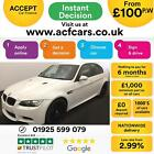 2011 WHITE BMW M3 40 V8 DCT PETROL AUTO 4DR SALOON CAR FINANCE FR 100 PW