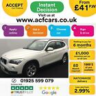 2012 WHITE BMW X1 20 XDRIVE20D SE DIESEL AUTO ESTATE CAR FINANCE FR 41 PW