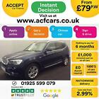 2015 BLUE BMW X3 20 XDRIVE20D X LINE DIESEL AUTO ESTATE CAR FINANCE FR 79 PW