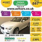 2015 WHITE BMW X1 20 XDRIVE20D M SPORT DIESEL AUTO ESTATE CAR FINANCE FR 67 PW
