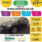 2015 BLACK BMW X1 20 XDRIVE20D SPORT DIESEL MAN ESTATE CAR FINANCE FR 75 PW