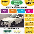 2016 WHITE BMW X3 20 XDRIVE20D M SPORT DIESEL AUTO ESTATE CAR FINANCE FR 88 PW