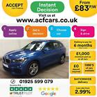 2016 BLUE BMW X1 20 XDRIVE20D M SPORT DIESEL MAN ESTATE CAR FINANCE FR 83 PW