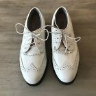FOOTJOY Softjoys Terrains Womens White golf Whoes size 5N