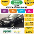 2014 BLACK BMW X5 30 XDRIVE40D M SPORT DIESEL AUTO 4X4 CAR FINANCE FR 104 PW