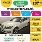 2011 WHITE MERCEDES C220 21 CDI AMG SPORT DIESEL COUPE CAR FINANCE FR 37 PW