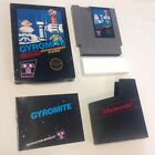 GYROMITE - NES NINTENDO COMPLETE CIB TESTED 1985 AUTHENTIC 5-SCREW FREE SHIPPING