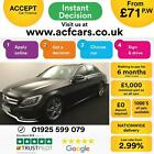 2015 BLACK MERCEDES C250 21 BLUETEC AMG LINE PREMIUM CAR FINANCE FR 71 PW