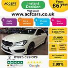 2015 WHITE MERCEDES CLA200 21 AMG SPORT DIESEL AUTO COUPE CAR FINANCE FR 67 PW