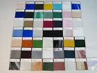 50 Pieces Art Stained Glass Sample Set Waterglass Baroque Irridized Spectrum