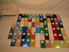 75 Pieces Art Stained Glass Sample Set Wissmach
