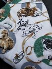 Dog Print Fashion Blanket Fits Full  Twin Size 50 Poly 50 Nylon