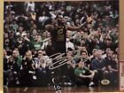 CLEVELAND CAVALIERS LEBRON JAMES, SIGNED AUTOGRAPHED 8 X 10 PHOTO WITH COA!!!