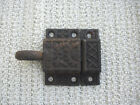 OLD VINTAGE RUSTIC CUPBOARD LATCH PULL RING CAST IRON-CABINET LATCH