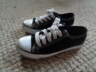 Canvas sneakers size 13 youth