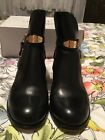 Michael Kor Leather Boots 7.5