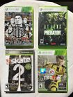 Xbox 360 Games Lot of 4