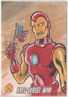 2011 Upper Deck Avengers Kree Skrull War Eric White Sketch - Iron Man
