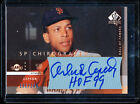 2003 SP AUTHENTIC CHIROGRAPHY ORLANDO CEPEDA AUTO HOF'S 99 INSCRIPTION 182 245