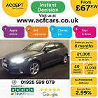 2016 GREY AUDI A3 SPORTBACK 14 TFSI 150 SPORT PETROL 5DR CAR FINANCE FR 67 PW