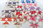 VINTAGE QUILT BLOCKS 15 Piece Estate Lot 12x12 Crazy Quilt Patchwork Squares 9x9
