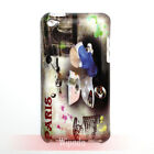 Scooter Motorcycle Paris Hard Case Cover Skin for Pod Touch 4 gen 4th generation