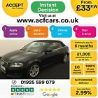 2011 BLACK AUDI A3 CABRIOLET 20 TDI 140 SPORT DIESEL AUTO CAR FINANCE FR 33 PW