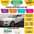 2012 WHITE AUDI A3 14 TFSI 122 SPORT PETROL MANUAL 3DR CAR FINANCE FR 33 PW