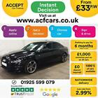 2011 BLACK AUDI A4 20 TDI 136 BLACK EDITION DIESEL SALOON CAR FINANCE FR 33 PW