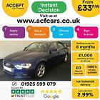 2013 BLUE AUDI A4 20 TDI 136 SE TECHNIK DIESEL SALOON CAR FINANCE FR 33 PW