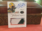 Panini Flawless Silver Autograph Jersey Packers Auto Eddie Lacy 12 25 2014
