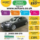 2016 GREY AUDI A4 AVANT 20 TDI 190 QUATTRO S LINE DIESEL CAR FINANCE FR 83 PW