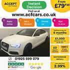 2016 WHITE AUDI A5 SPORTBACK 20 TDI 190 BLACK EDITION + CAR FINANCE FR 79 PW