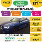 2016 BLUE AUDI A5 SPORTBACK 20 TDI 190 BLACK EDITION + CAR FINANCE FR 71 PW
