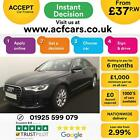 2011 BLACK AUDI A6 20 TDI 177 SE DIESEL MANUAL SALOON CAR FINANCE FR 37 PW