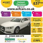 2012 WHITE AUDI A6 20 TDI 177 SE DIESEL MANUAL SALOON CAR FINANCE FR 37 PW