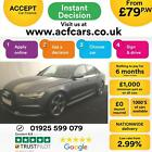 2015 GREY AUDI A6 20 TDI 190 BLACK EDITION DIESEL SALOON CAR FINANCE FR 79 PW