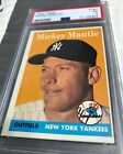 1958 Topps Mickey Mantle #150 PSA 5 EX New York Yankees HOF Baseball Card