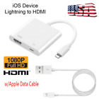 Lightning To HDMI Digital AV TV Cable Adapter Applee Data Cable For iPad/iPhonee