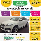 2012 WHITE AUDI Q7 30 TDI 245 QUATTRO S LINE + DIESEL AUTO CAR FINANCE FR 67PW