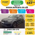 2014 GREY AUDI Q7 30 TDI 245 QUATTRO S LINE SPORT EDITION CAR FINANCE FR 83 PW