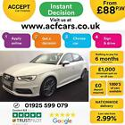 2015 WHITE AUDI S3 SPORTBACK 20 TFSI 300 QUATTRO 5DR AUTO CAR FINANCE FR 88 PW
